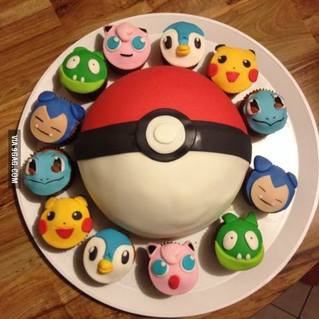 This is my 18th birthday cake, now I'll begin my journey to become a Pokémon master