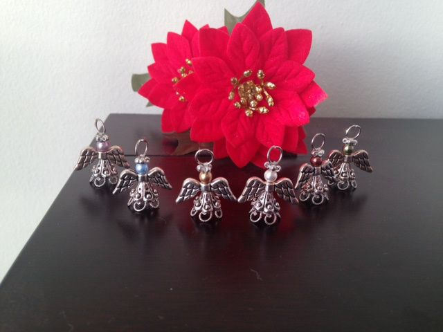 Little angel ornaments!