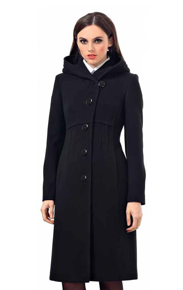 Женское пальто с капюшоном 2018 (77 фото): с большим ...