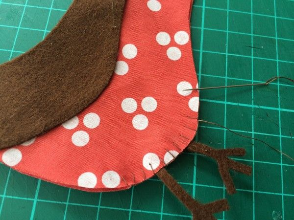 Over the years robins have become synonymous with Christmas. Whether they're on postage stamps, taking centre stage of a snowy Christmas card scene or reporting back to Santa, these little birds have taken a starring role in the festive season. So why not make your own Christmas Robin to hang on your tree. You will …