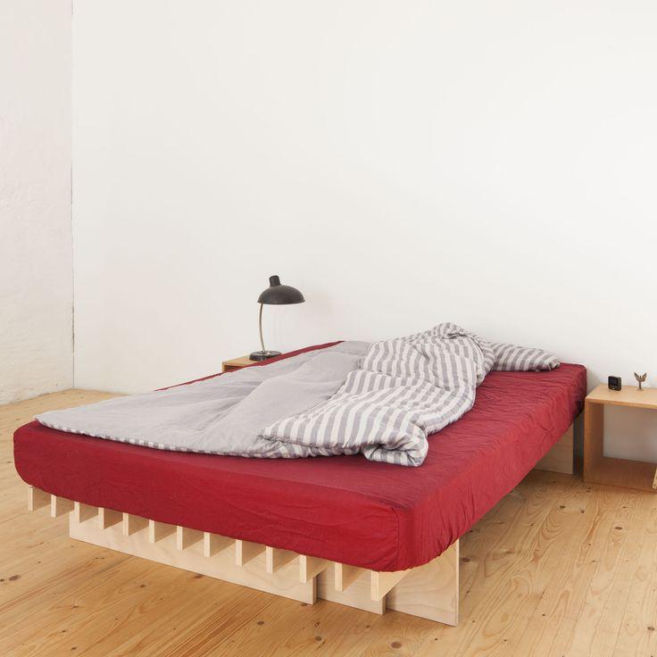 Tojo-parallel Bett 160 -  - A048313.000