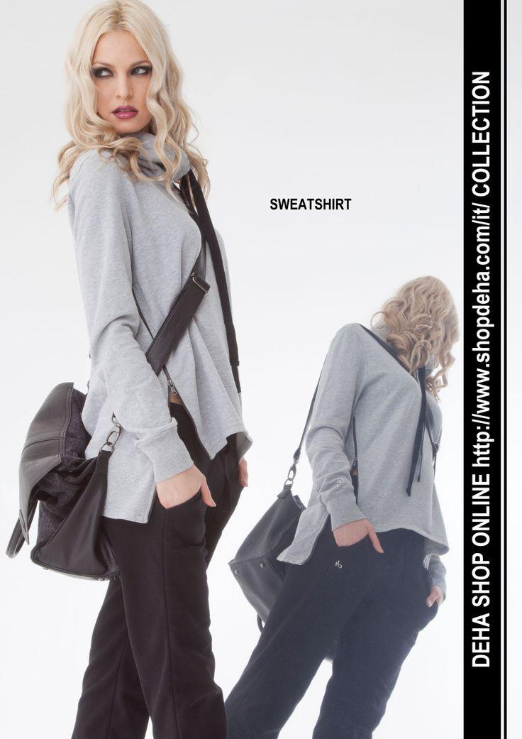 Per il vostro shopping online #SALDI #DEHA #sweatshirt http://www.shopdeha.com/it/ http://www.shopdeha.com/it/collection/123-felpa.html