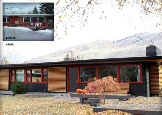 Curb Appeal Putting The Modern Back In Mid Century The