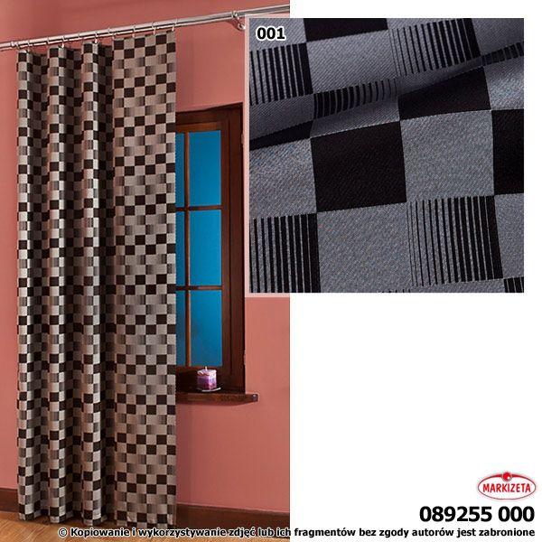 #zasłony_aranżacje Elegancka, czarmo-szara tkanina zasłonowa dla najbardziej wymagających Klientów. Gruba, matowa tkanina o gęstym splocie. Doskonała tkanina do szycia zasłon i lambrekinów, jak również innych dekoracji tekstylnych, w szczególności obrusów, serwet itp.   szerokość: 300 cm  kolor: czarno-szary przepuszczalność światła: mała Możesz zlecić szycie w naszej profesjonalnej szwalni ceny już od 2,50 zł/mb.  kasandra.com.pl