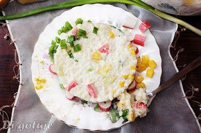 Di gotuje: Sałatka ryżowa z paluszkami surimi i nutą curry