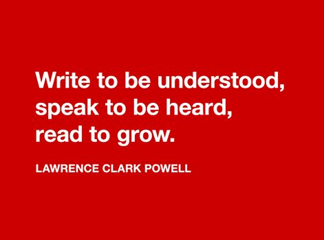 quote by Lawrence Clarke Powell