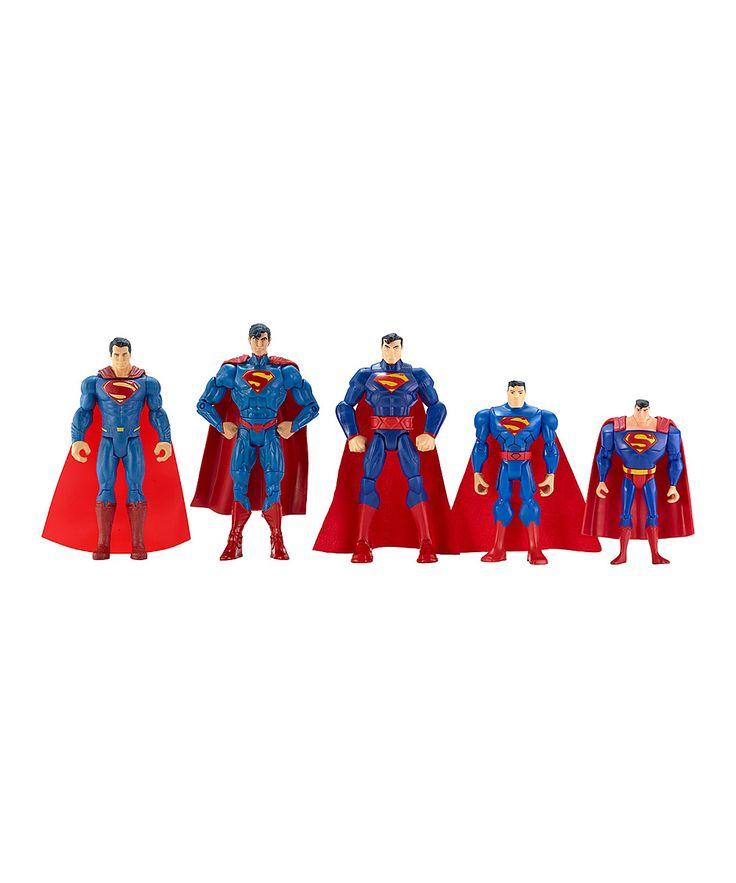 Dc Comic Showdown Superman Action Figure Set