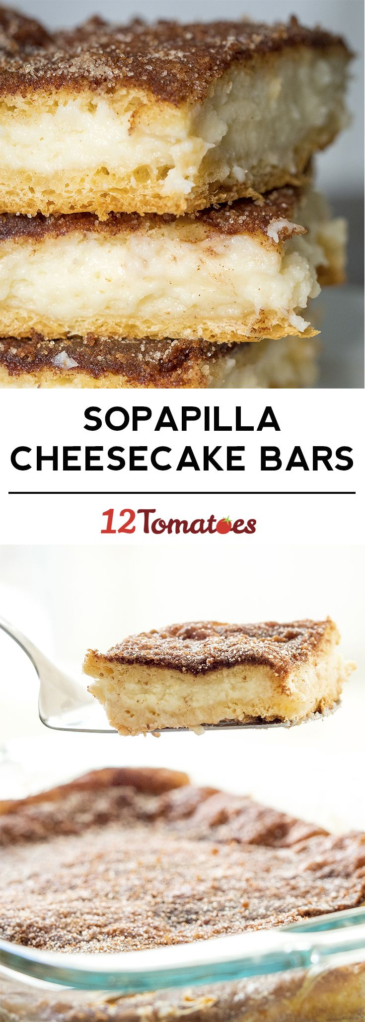 Sopapilla Cheesecake Bars