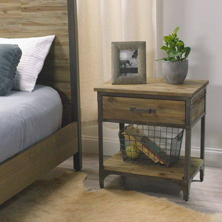Best 25 Rustic nightstand ideas on Pinterest