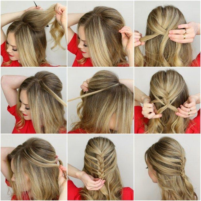 Festliche Frisuren Schulterlange Haare Selber Machen