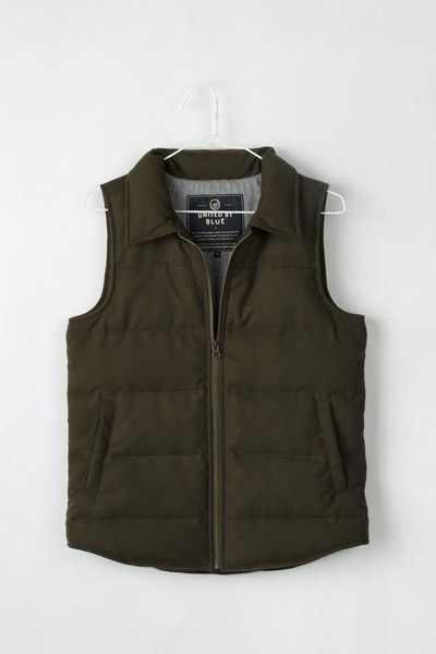 Martel Wool Vest from United By Blue