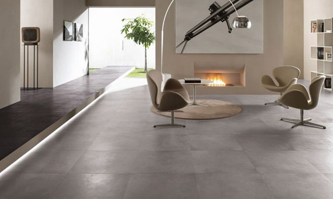 Carrelage Gris Anthracite Brillant With Images Living Room Tiles
