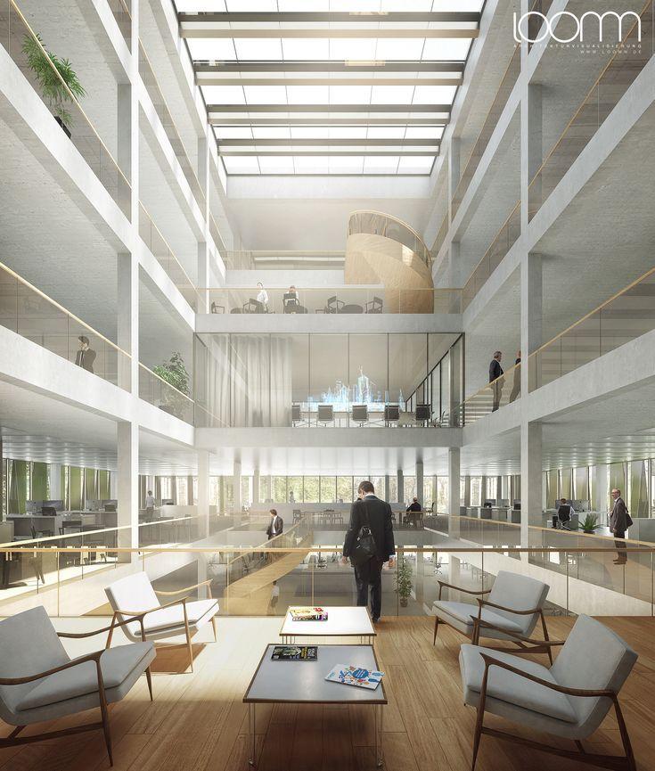 3d Architektur Visualisierung Fur Den Entwurf Von Mak Architecture