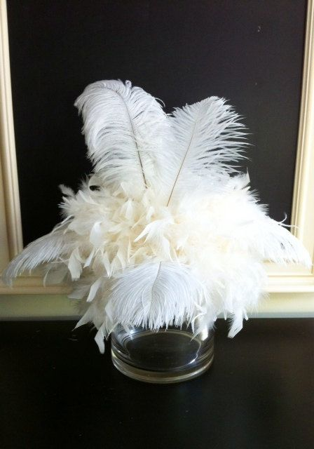 Best aa feathers tablescapes weddings images on