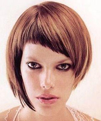 Асимметричные стрижки 2016 с фото и видео косых женских стрижек для круглого лица