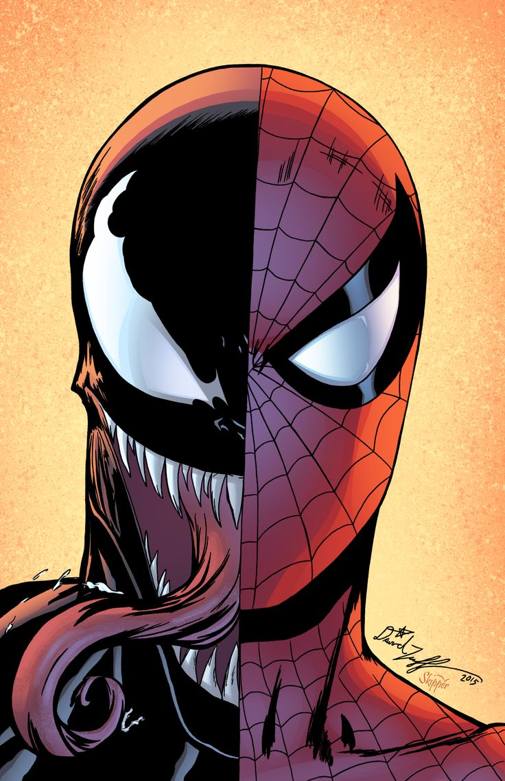 Spiderman and Venom by J-Skipper on DeviantArt