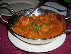 Chicken Vindaloo, Indian delight, nice and hot