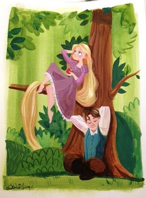 Rapunzel by Victoria Ying