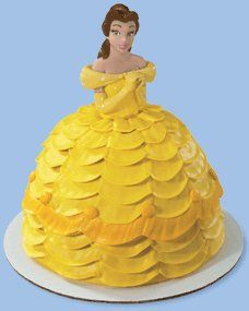 Amazon.com: Disney Princess- Belle Petite Doll Cake Topper: Toys & Games