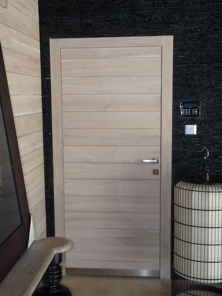 rusztikus beltéri ajtó tölgyfából