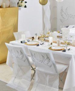 Stolsdekorationer till bröllop och fest - Bröllopsdekorationer.com