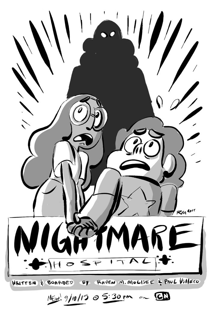 "raveneesimo: ""NIGHTMARE HOSPITAL!! Have a promo! Airs tonight at 5:30 pm on CN! """