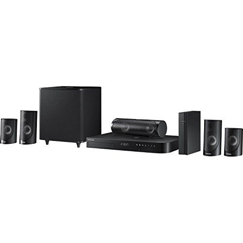 Samsung HTJ5500W 51 Channel 1000Watt 3D BluRay Home Theater System 2015 Model ** You can get more details by clicking on the image.