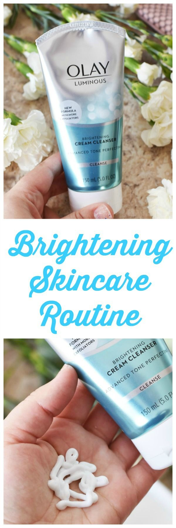 My Brightening Skincare Routine- Check out the Olay Skin Advisor Tool to get your tailored skincare regimen. #ad #28DaysofOlay