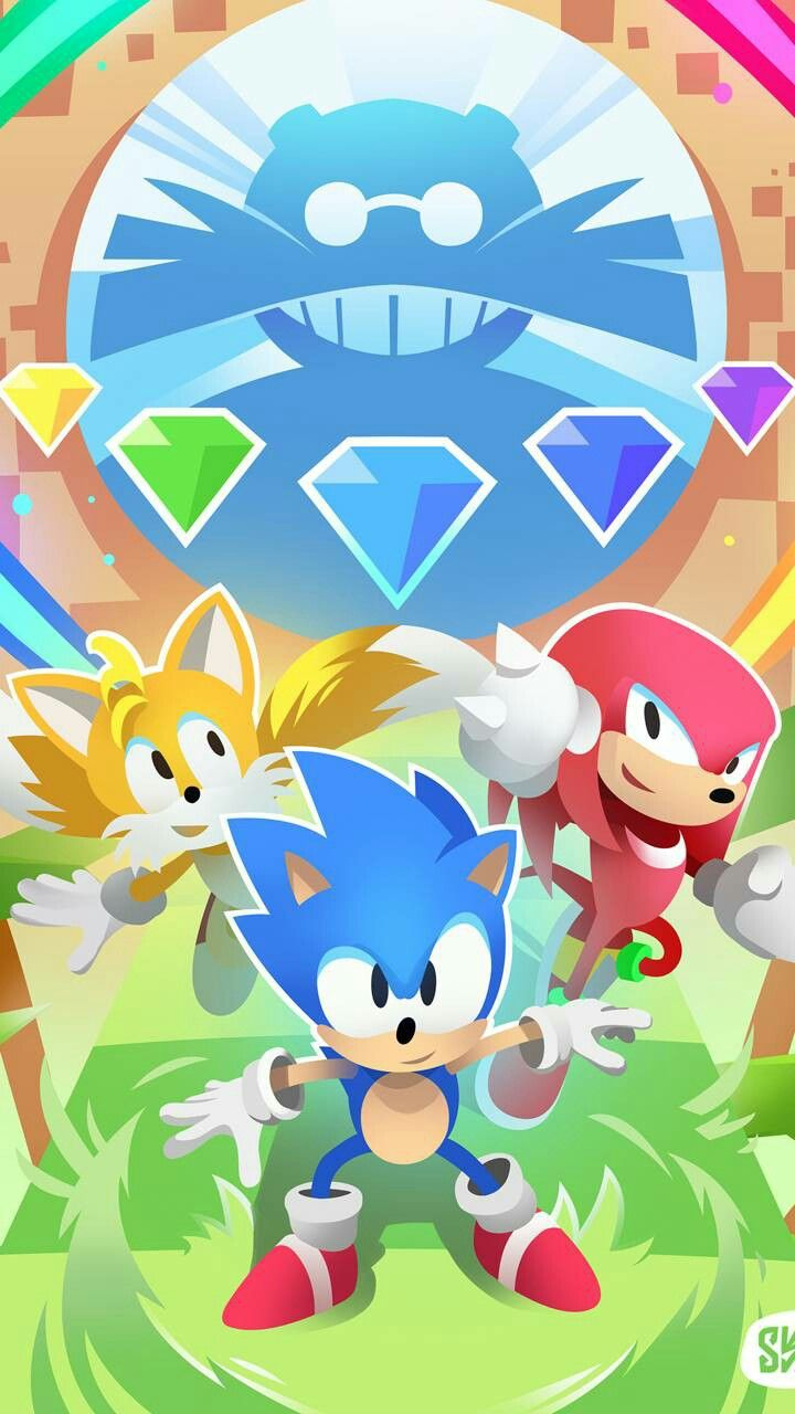 Sonic Mania Sonic Knuckles Tails