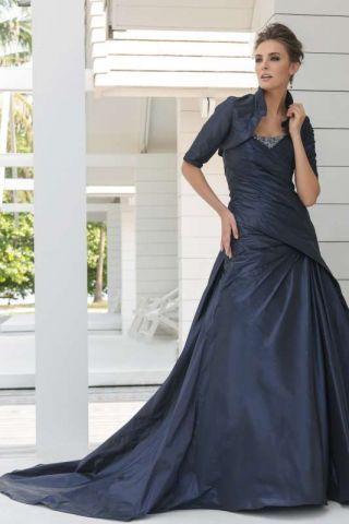 Синие свадебные платья, фото 10