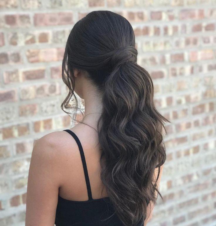 Holiday hair by @cristina_hotca using Elixir Ultime Hair Oil