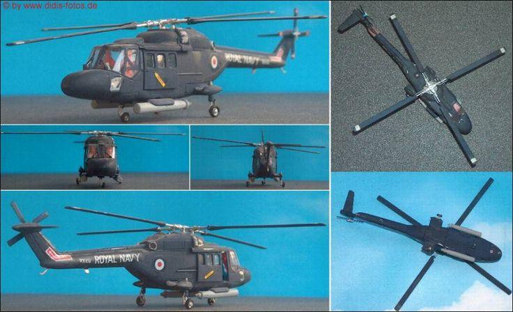 """Aèrospatiale/Westland """"Sea-Lynx"""" HAS.Mk.2 (Matchbox 108) 1:72"""