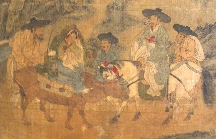File:Corea, paravento con scene di genere, firmato kim hong-do, epoca choson, 1800-1814 ca. 03.JPG
