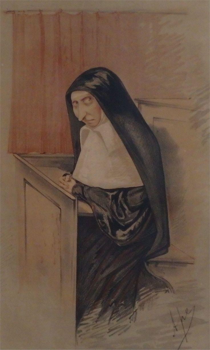 Mrs Star, a Mother Superior, was accused by (former) nun, Susan Saurin of assault in 1869.  The case caused a national furore.  In the end the judge found in Saurin's favour - she received an out of court settlement of £500 (£47,000 in today's money).