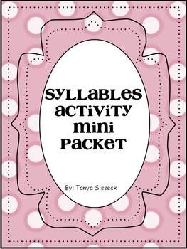 17 Best images about Syllables on Pinterest | Count, Decoding and ...
