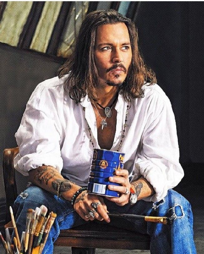 Top 8 Johnny Depp Long Hair Images Johnny Depp Hairstyle Johnny Depp Long Hair Johnny Depp Style
