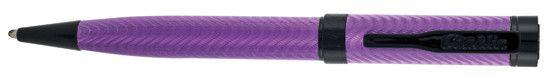Conklin Herringbone Majestic Purple Ballpoint Pen
