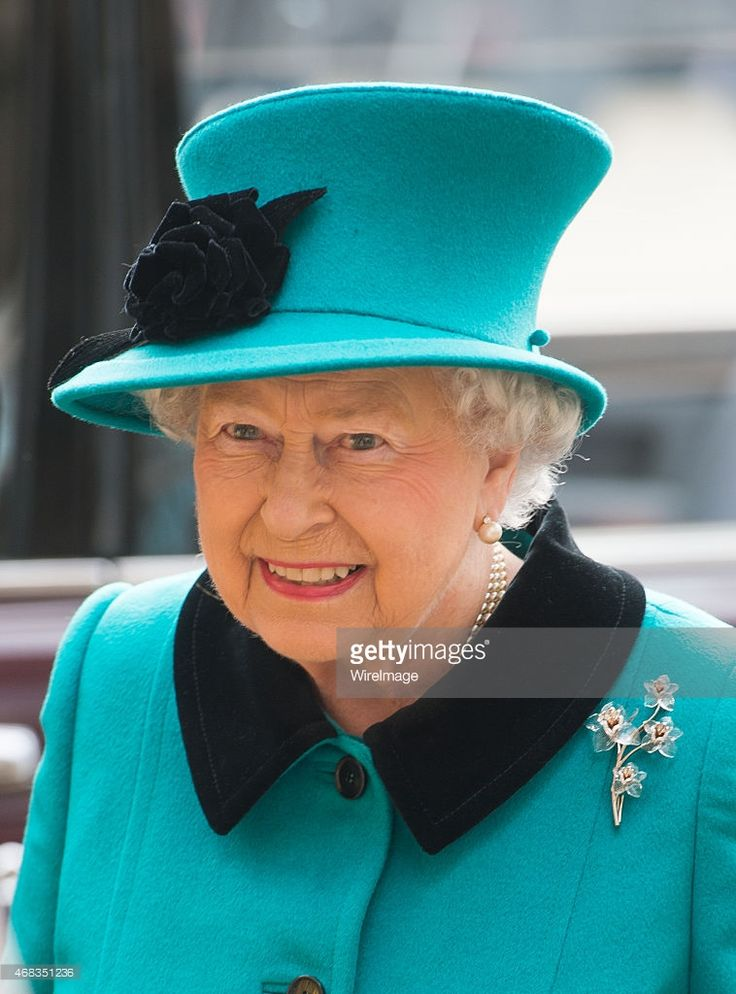 Queen Elizabeth II attends the traditional Royal Maundy Service at Sheffield Cathedral; April 2, 2015. Alms Money on Maundy Thursday. The Queen, who has only missed the ceremony four times, was all smiles as she arrived