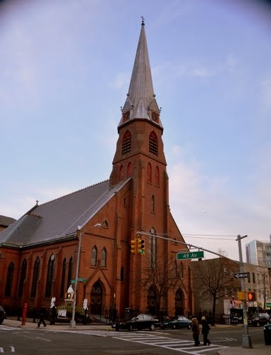 St Mary's Catholic Church in Long Island City Queens
