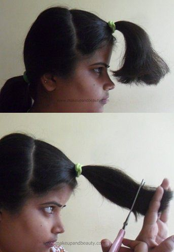 How To Cut Your Own Hair in Layers