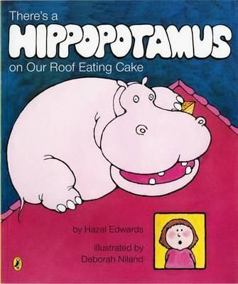 The-imaginary-Hippo-can-do-what-he-likes-on-the-roof-In-fact-he-does-all-the-things-a-little-girl-wishes-she-could-but-is-not-allowed-When-she-takes-a-bath-the-hippo-takes-a-shower-when-she-goes-to-bed-the-hippo-watches-television-on-the-roof
