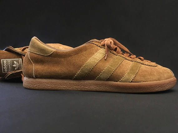 ADIDAS TOBACCO Tan leather. Collector Adidas Shoes Made In