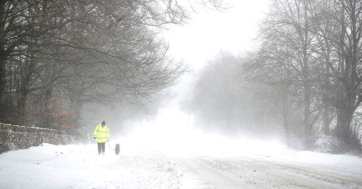 #MONSTASQUADD Heaviest Snow in Decades Batters U.K and Ireland