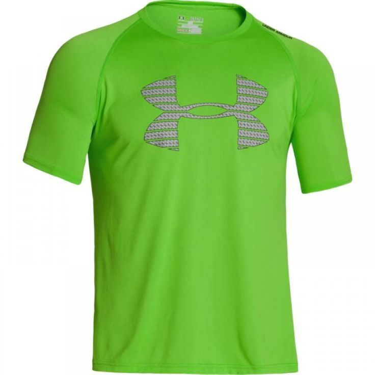 Pánské zelené sportovní tričko Under Armour