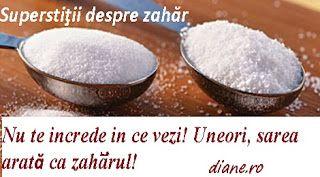 Zahărul reprezintă în superstiţiile lumii atât plăcere, delectare, cât şi tendinţa de a te iluziona,...