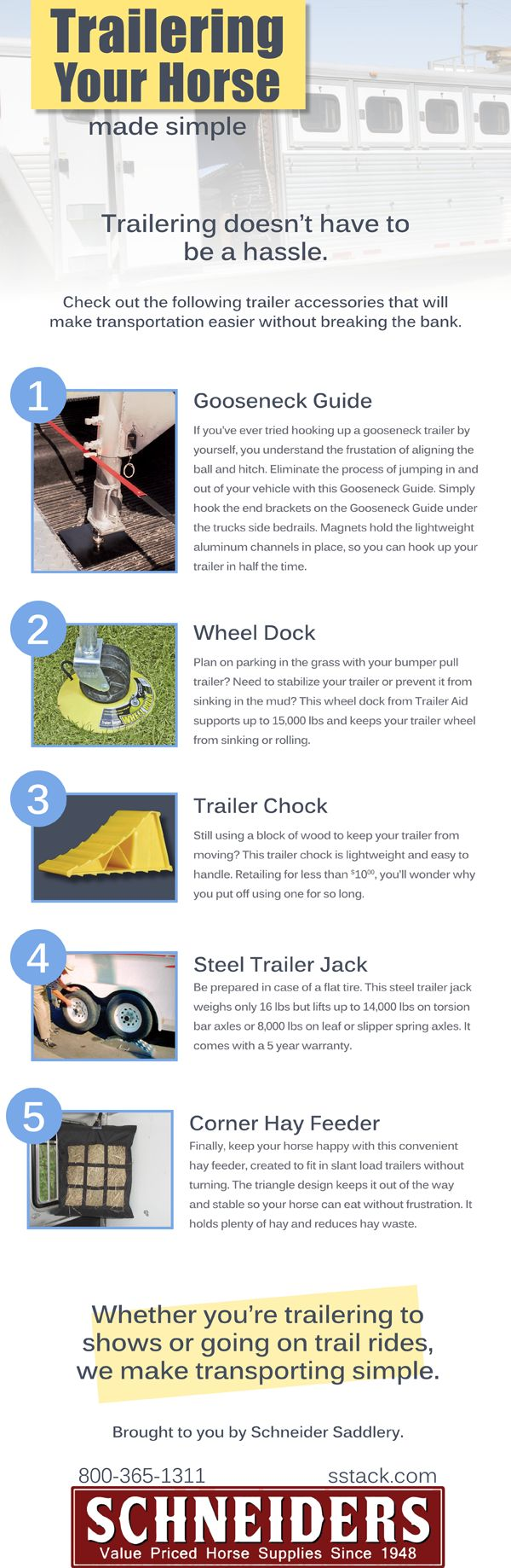 Trailering Made Simple. Trailering doesn't have to be a hassle!
