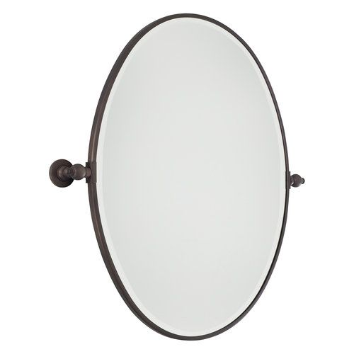 Contemporary Art Sites oval pivot mirror oil rubbed bronze Google Search