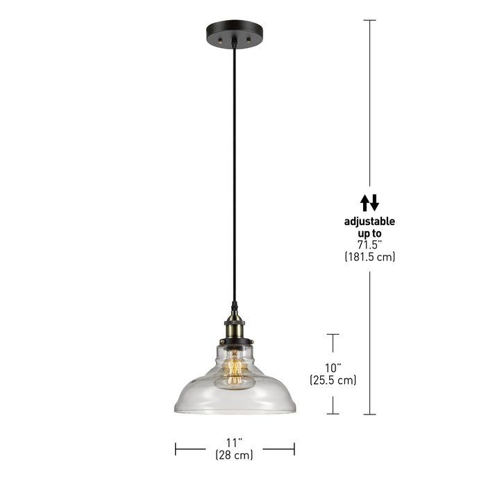 industrial inspired lighting. fashioned after vintage inspired lighting globe electricu0027s latiya 1 light mini pendant adds a rustic industrial feel to any room