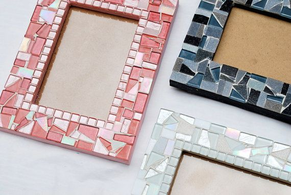 Mosaic Picture Frame 5 x 7    You choose the by GreenStreetMosaics, $40.00