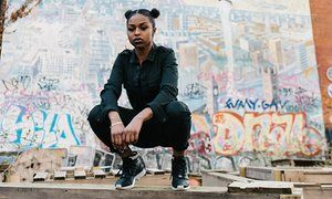 Straight out of Croydon: new British rapper Nadia Rose.